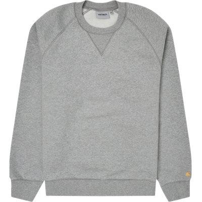 Crew Chase Sweatshirt Regular fit | Crew Chase Sweatshirt | Grå
